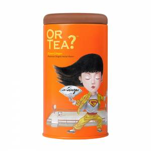 Or Tea? EnerGinger Matt Tin Canister