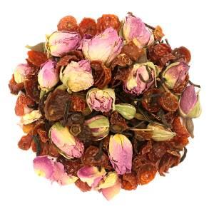 Or Tea? La Vie en Rose Glossy Tin Canister