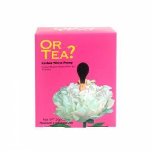 Or Tea? Lychee White Peony 10-Sachet Box