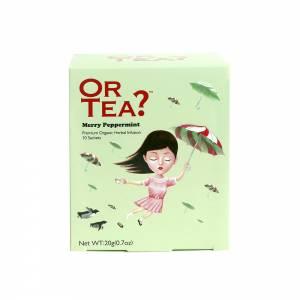 Or Tea? Merry Peppermint 10-Sachet Box