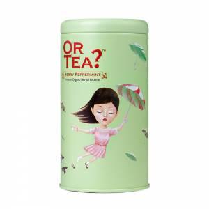 Or Tea? Merry Peppermint Matt Tin Canister