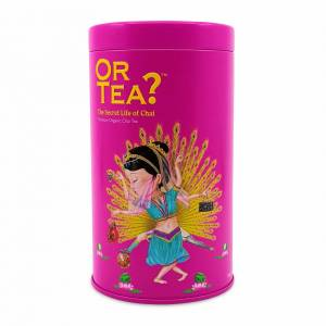 Or Tea? The Secret Life Of Chai Glossy Tin Canister