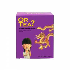 Or Tea? Dragon Jasmine Green 10-Sachet box