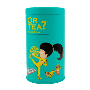 Or Tea? Kung Flu Fighter Matt Tin Canister